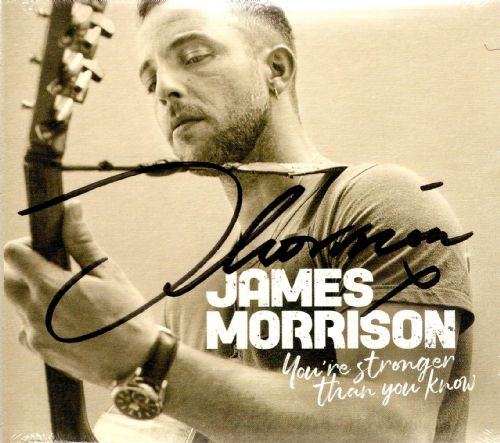 JAMES MORRISON You're Stronger Than You Know CD Album Stanley Park 2019 Signed